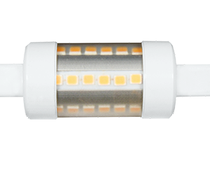 LINEAL TUBULAR  5W R7S 78mm 220V 360- LED