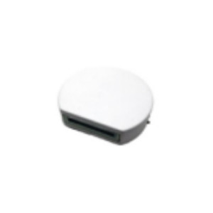 APLIQUE DE PARED PARA EXTERIOR CON LED INTEGRADO REDONDO 3W IP65 BLANCO 4000K