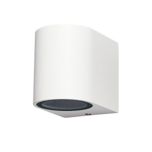 APLIQUE DE PARED PARA EXTERIOR CON LED INTEGRADO CUADRADO TUNEL IP65 BLANCO 4000K
