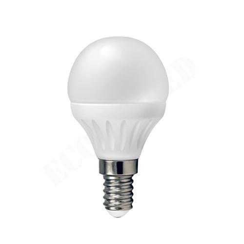BOMBILLA LED G45 (ESFÉRICA) E14 3'5W 4000K 1