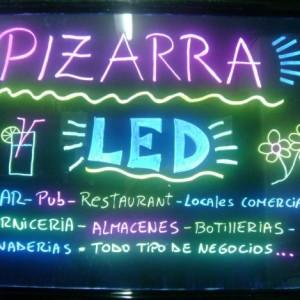 PIZARRA LED RGB 80x60cm CON MANDO A DISTANCIA RGB