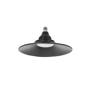 BOMBILLA LED UFO E27 30W NEGRA 6000K