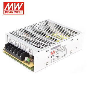TRANSFORMADOR 24V 75W (3,13A) MEAN WELL IP20
