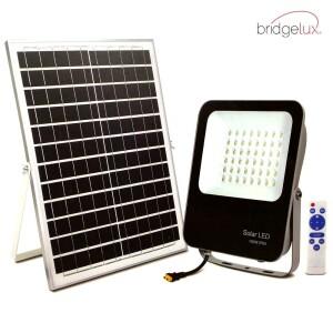PROYECTOR LED EXTERIOR SOLAR 150W CON PANEL SOLAR Y MANDO A DISTANCIA 6000K