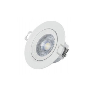 LED SPOT REDONDO 7W BLANCO ORIENTABLE 3000K