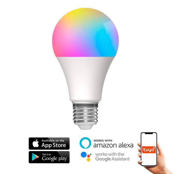 BOMBILLA LED A60 10W SMARTHOME RBG-CCT RGB-CCT