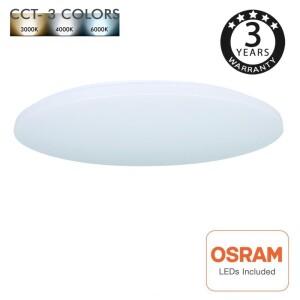 PLAFON LED 18W CCT CHIP OSRAM 3K/4K/6K