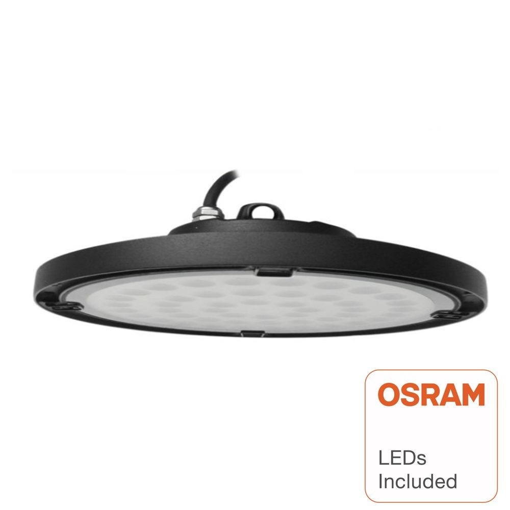 CAMPANA LED INDUSTRIAL UFO SLIM 150W CHIP OSRAM 120º IP65 6000K