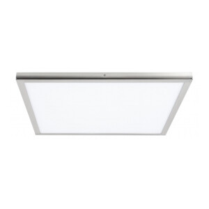 PANEL LED SUPERFICIE SLIM 40x40 NIQUEL SATINADO 6000K
