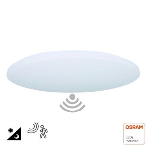 PLAFON LED 18W CHIP OSRAM Y CON SENSOR MICROONDAS 4000K