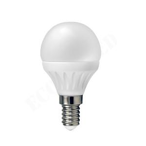BOMBILLA LED G45 (ESFÉRICA) E14 3'5W 6000K