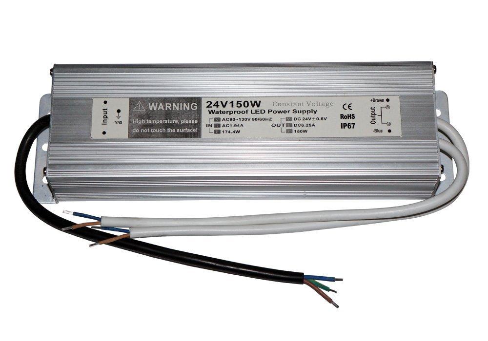 TRANSFORMADOR 24V 150W (6,25A) IP65