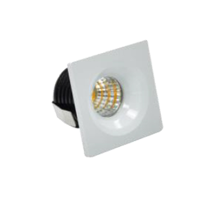MINI DOWNLIGHT COB CUADRADO PARA EMPOTRAR BLANCO 6000K 1