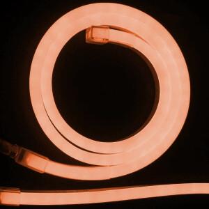 NEON LED FLEXIBLE 6mm 12V 9,6W NARANJA NARANJA