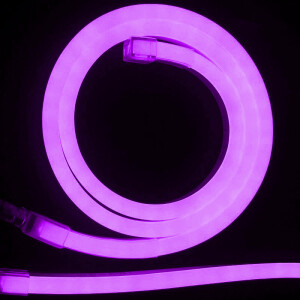 NEON LED FLEXIBLE 6mm 12V 9,6W ROSA ROSA