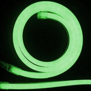 NEON LED FLEXIBLE 6mm 12V 9,6W VERDE VERDE