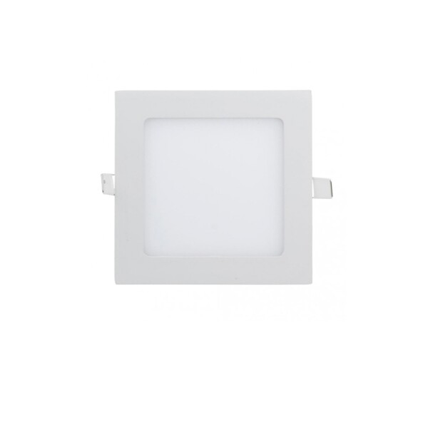 DOWNLIGHT LED EXTRAPLANO CUADRADO PARA EMPOTRAR 12W BLANCO 3000K 1