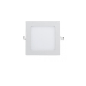DOWNLIGHT LED EXTRAPLANO CUADRADO PARA EMPOTRAR 9W BLANCO 4000K
