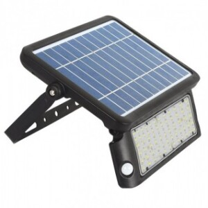 APLIQUE SOLAR PARED 10W CON SENSOR MOVIMIENTO 6000K