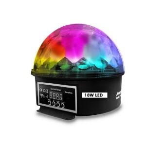 MAGIC BALL MINI STAR LED 18W DMX RGB