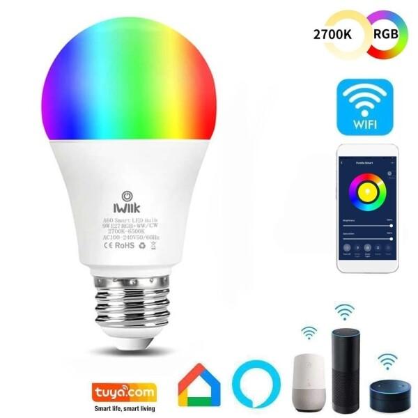 BOMBILLA LED A60 10W SMARTHOME WIFI RBG-CCT RGB-CCT 1