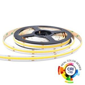 TIRA LED COB 24V 12W/m CRI90 IP20 6500K