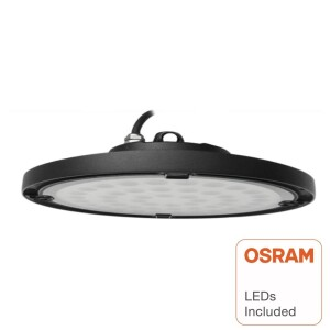 CAMPANA LED INDUSTRIAL UFO SLIM 200W CHIP OSRAM 120º IP65 6000K