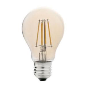 BOMBILLA LED A60 (STANDARD) E27 7W FILAMENTO AMBAR 2700K